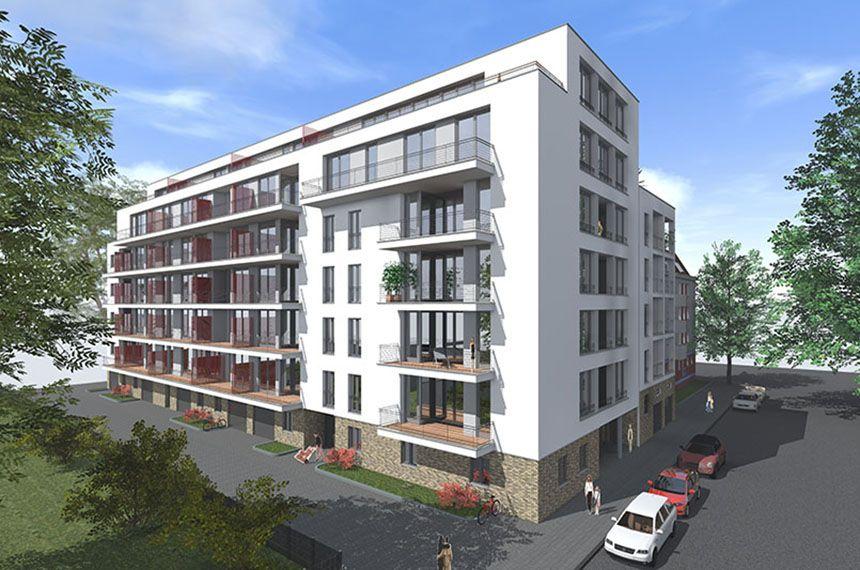 Neubau eines Mehrfamilienwohnhauses in Berlin Charlottenburg, Fertigstellung 2017
